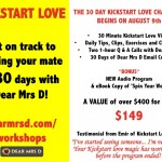 Last Chance to Kickstart Love