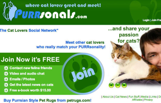 dating sites for cats