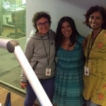 Fall Flirting Tips with Damona Hoffman on KPCC Take Two