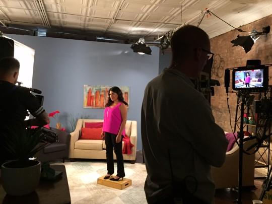 Damona Hoffman TV Host of Black Love
