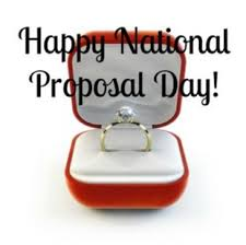 Happy National Proposal Day on this First Day of Spring